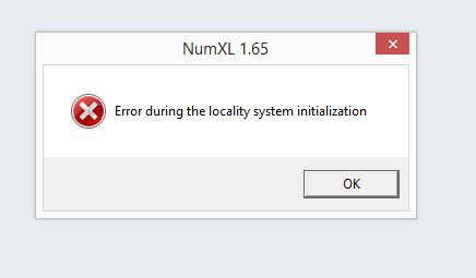 I can't upgrade to 1 65 (error during locality