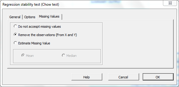 regression stability test dialog missing-values
